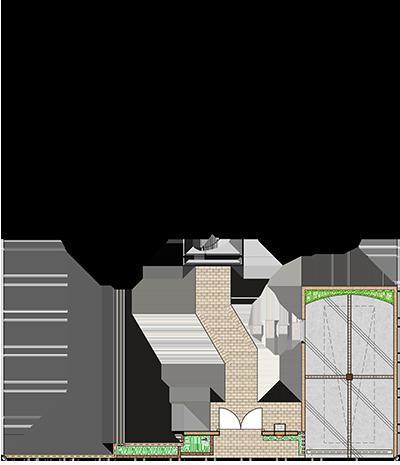 エクステリアのお見積もり例・平面図|千葉