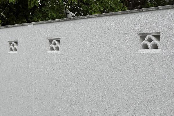 塗り壁|モルタル左官仕上げ塀|千葉 外構・エクステリア