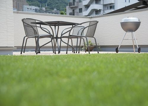 屋上庭園・屋上緑化|千葉 外構・エクステリア