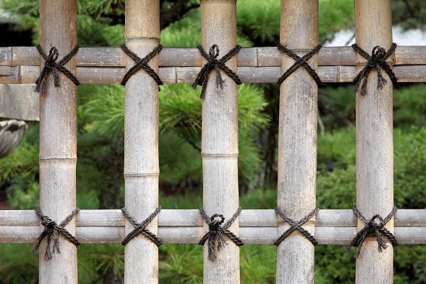 竹垣|四つ目垣|千葉 外構・エクステリア